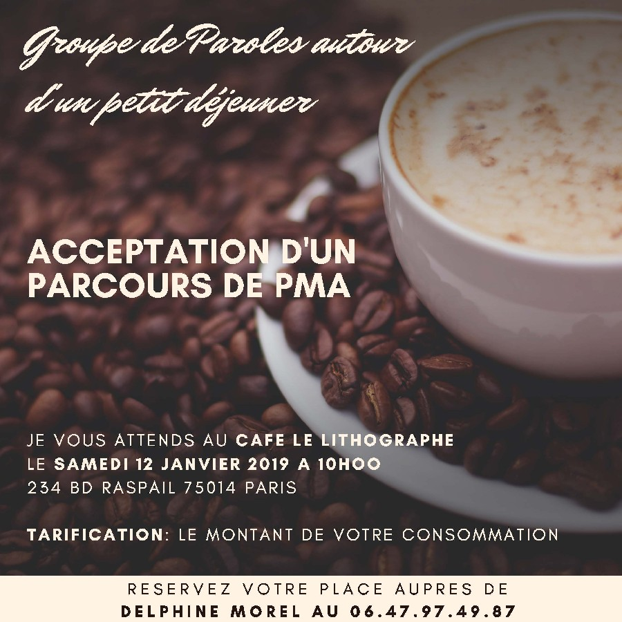 Groupe de paroles Paris PMA 12 Janvier 2019