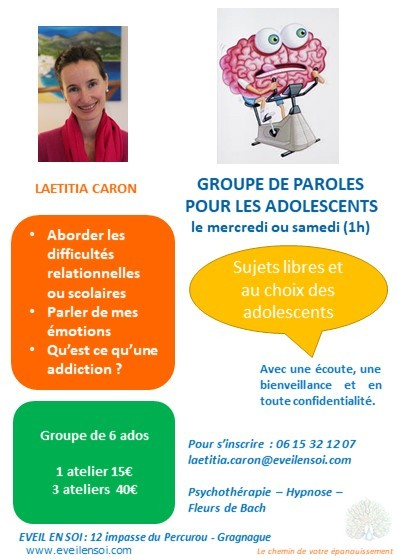 Cercle de paroles pour adolescents